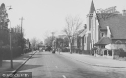 Worcester Park, Cheam Common Road c.1950