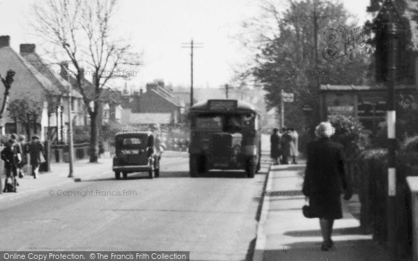 Photo of Worcester Park, Cheam Common Road c.1950