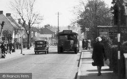 Worcester Park, Cheam Common Road c.1950