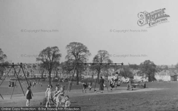 Photo of Worcester Park, Children's Corner, Cuddington Recreation Ground c.1950
