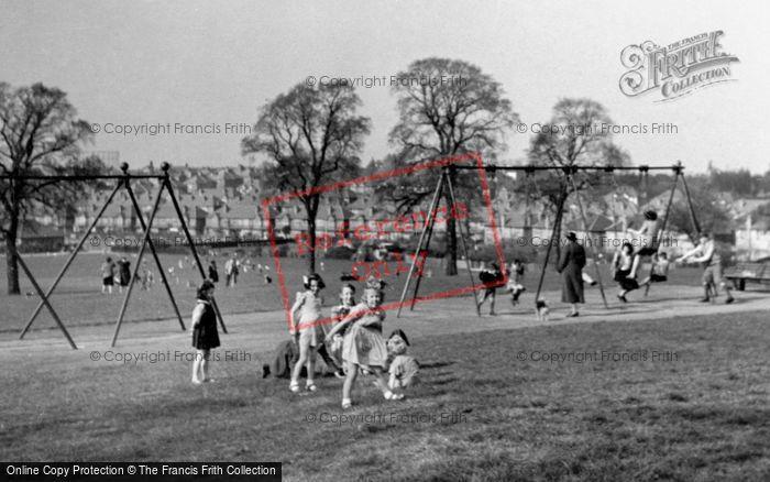 Photo of Worcester Park, Children's Corner, Cuddington Recreation Ground c.1950