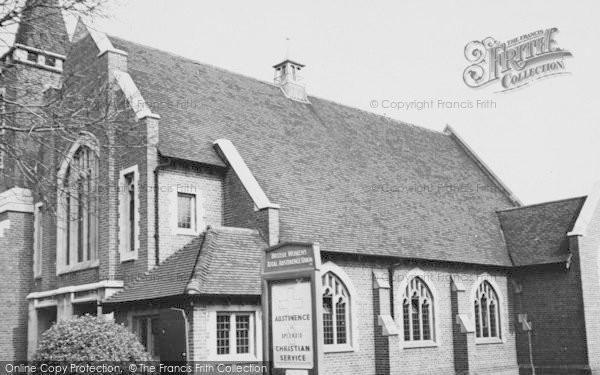 Photo of Worcester Park, Christ Church Methodist c.1955