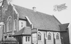 Worcester Park, Christ Church Methodist c.1955