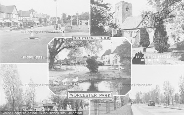 Photo of Worcester Park, Composite c.1960