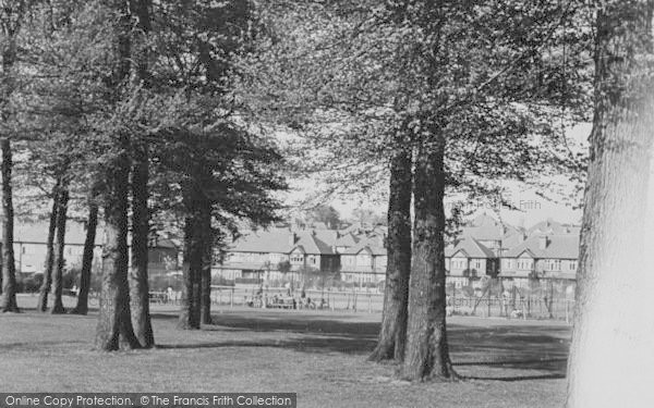 Photo of Worcester Park, Cuddington Recreation Ground c.1950