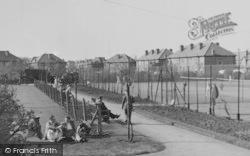 Worcester Park, Cuddington Tennis Court c.1950