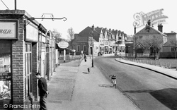 Worcester Park, From The Bridge c.1955