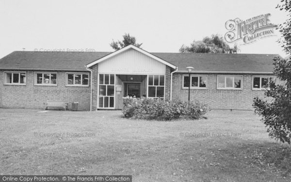 Photo of Worcester Park, Library c.1965