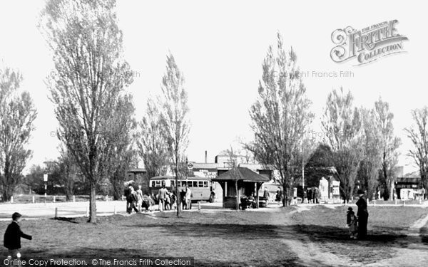 Photo of Worcester Park, Malden Green c1950