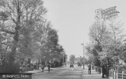Worcester Park, Malden Road c.1950