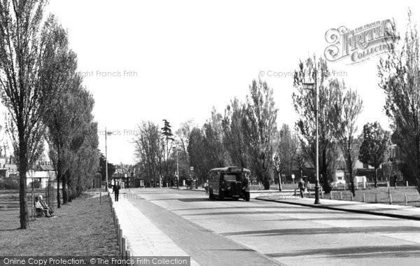Photo of Worcester Park, Malden Road c.1950