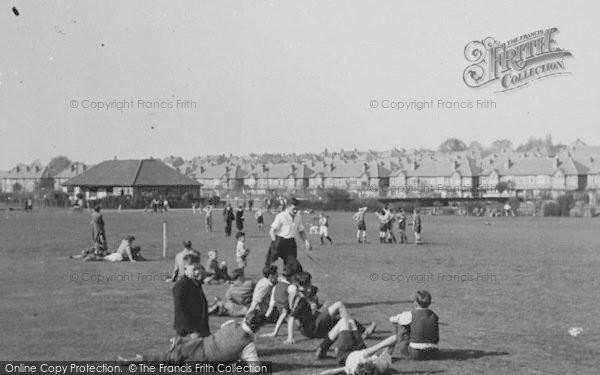 Photo of Worcester Park, Playing Fields, Cuddington Recreation Ground c.1950