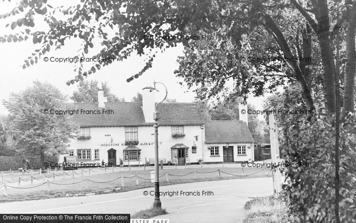 Photo of Worcester Park, Plough Green c.1950