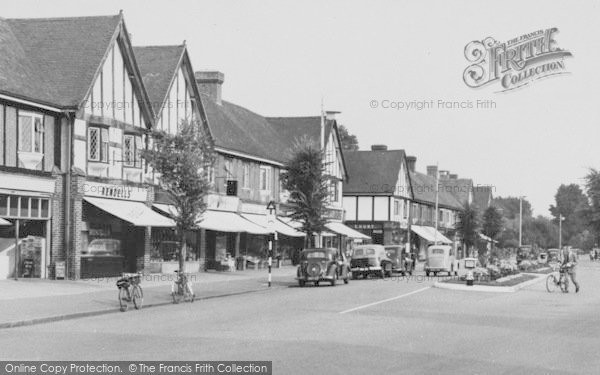 Photo of Worcester Park, Plough Green c.1955