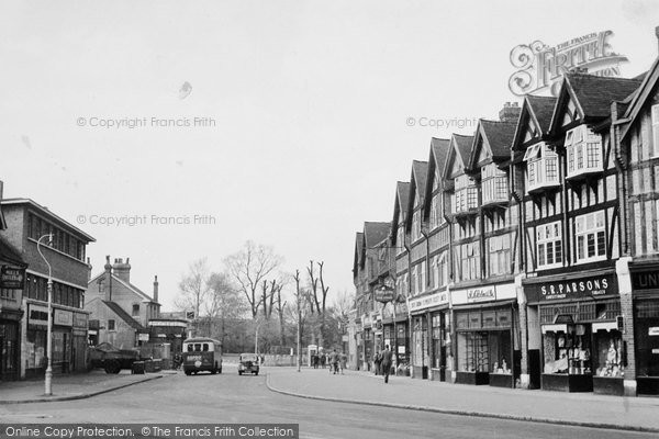 Photo of Worcester Park, The Parade c.1950