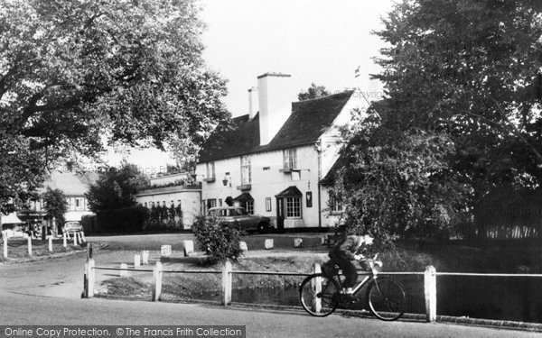 Photo of Worcester Park, the Plough 1968