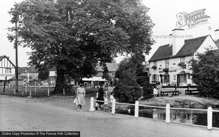 Photo of Worcester Park, The Plough Inn c.1955