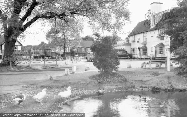 Photo of Worcester Park, The Plough Inn c.1960