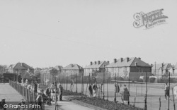 Worcester Park, The Tennis Courts, Cuddington Recreation Ground c.1950