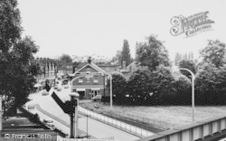 Worcester Park, View From Railway Bridge c.1965