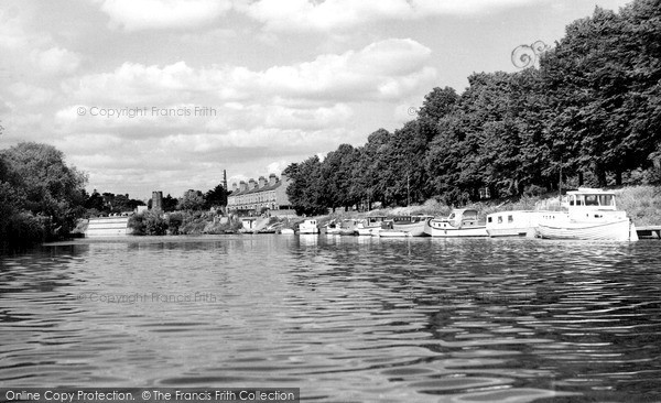 Photo of Worcester, Pitchcroft Boating Station c.1960