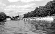 Worcester, Pitchcroft Boating Station c1960