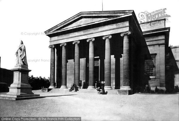 Worcester, Shire Hall 1899