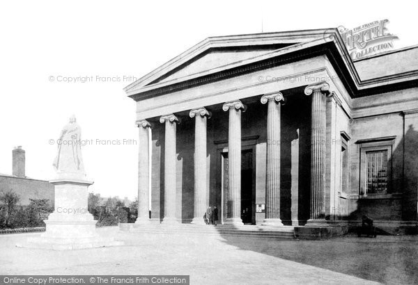 Photo of Worcester, Shire Hall And Queen Victoria's Statue 1896