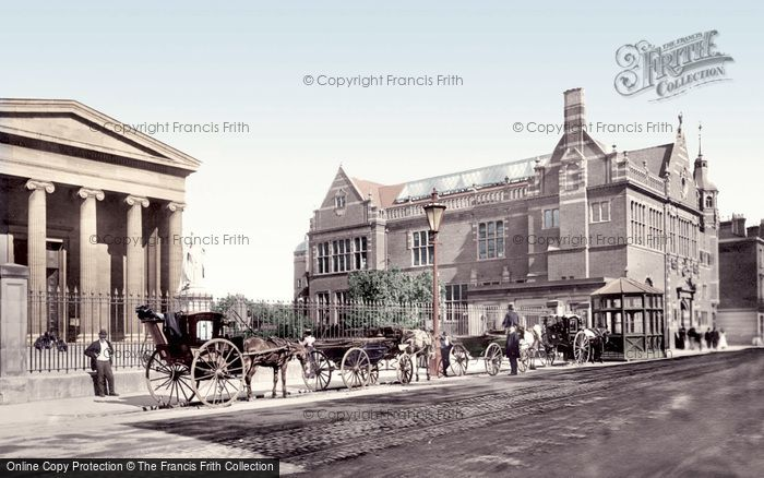 Photo of Worcester, Shire Hall And Victoria Institute 1899