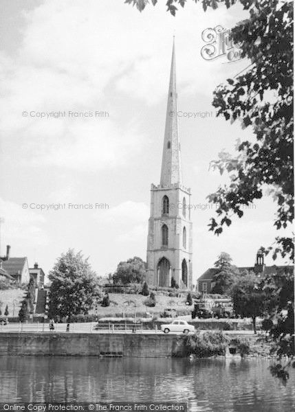 Photo of Worcester, St Andrew's Spire c.1960