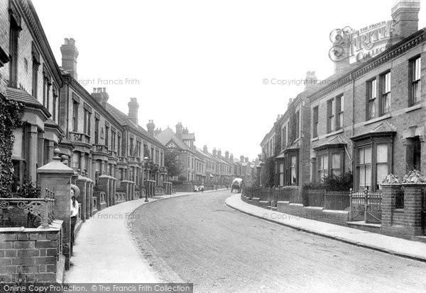 Photo of Worcester, St Dunstan's Crescent 1907