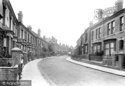 Worcester, St Dunstan's Crescent 1907