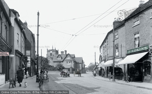 Photo of Worcester, St John's 1925