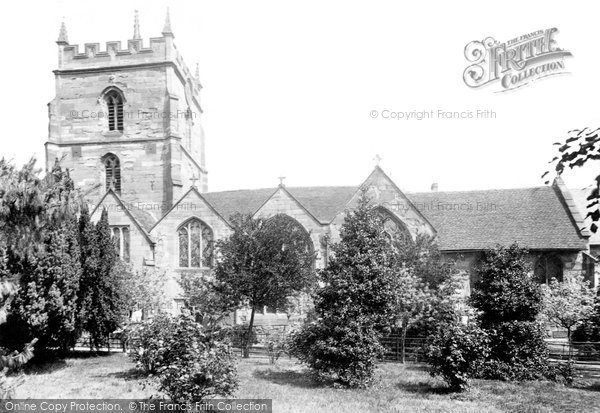 Photo of Worcester, St John's Church 1904