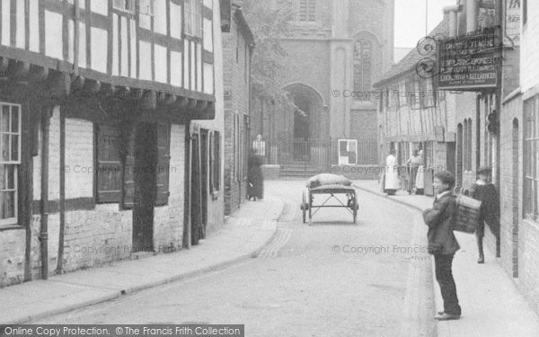 Photo of Worcester, St Peter's Street 1906