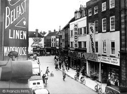 Worcester, St Swithin's Street c.1950