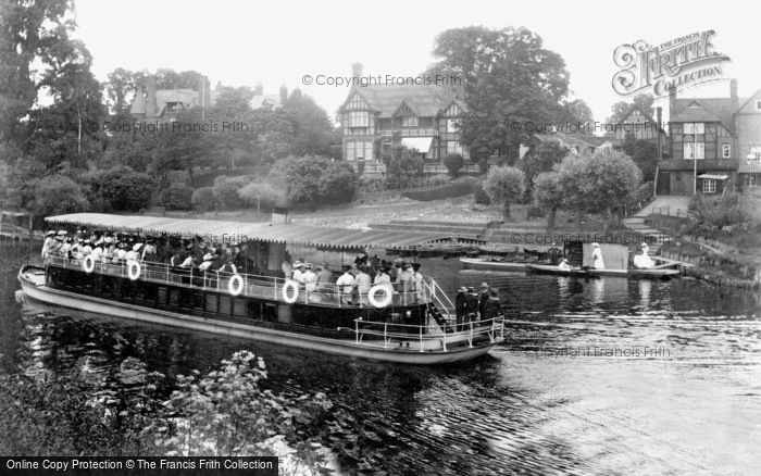 Photo of Worcester, Steamboat And The Kepax Ferry 1906