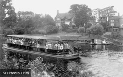 Worcester, Steamboat And The Kepax Ferry 1906