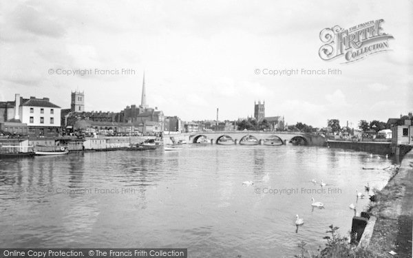 Photo of Worcester, The Bridge 1936