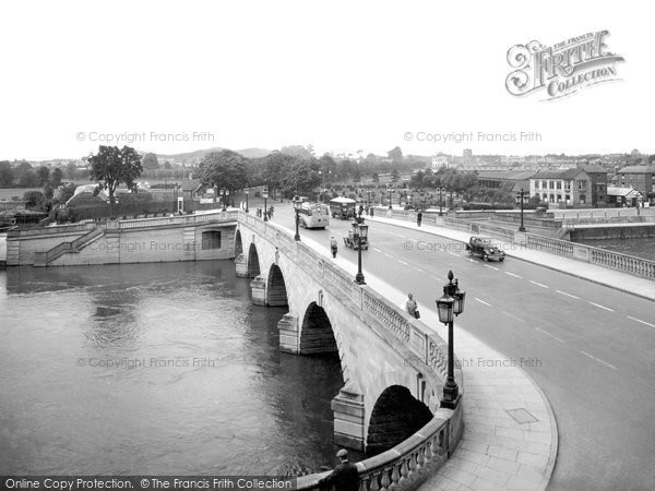 Photo of Worcester, The Bridge 1936