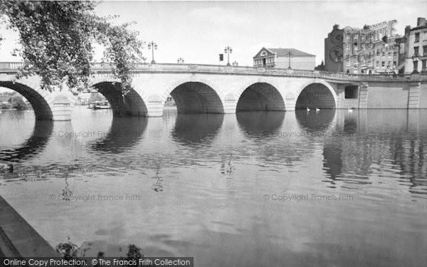 Photo of Worcester, The Bridge c.1960