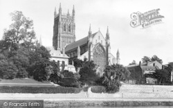 Worcester, The Cathedral 1891