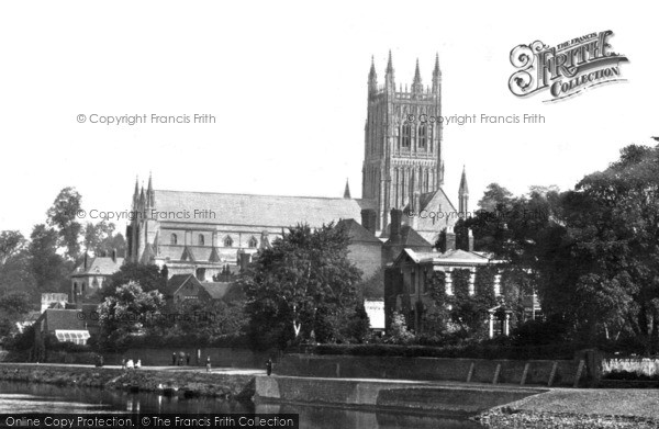 Photo of Worcester, The Cathedral 1891