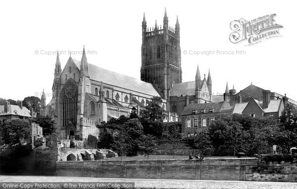 Photo of Worcester, The Cathedral 1892