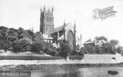 Worcester, The Cathedral 1899