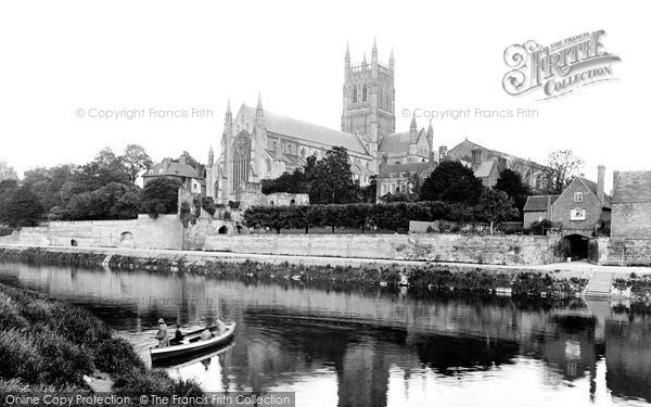 Photo of Worcester, The Cathedral 1923