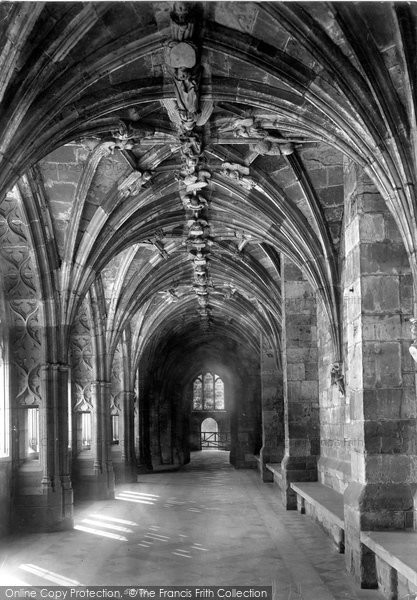 Photo of Worcester, The Cathedral, Angel Cloister 1907