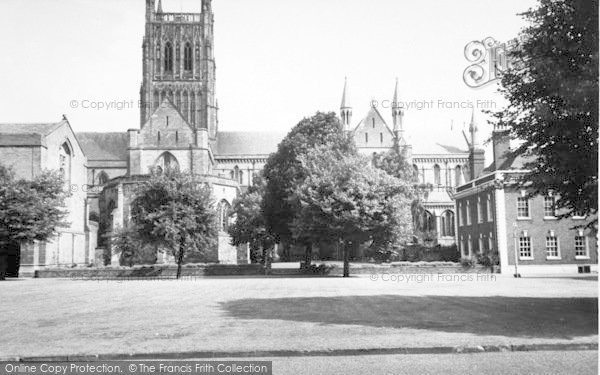 Photo of Worcester, The Cathedral c.1960