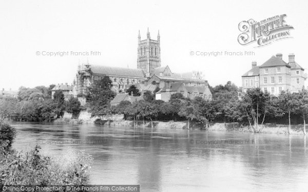 Photo of Worcester, The Cathedral c.1965