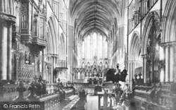 Worcester, The Cathedral, Choir East c.1869